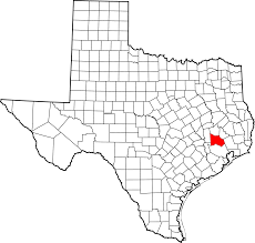 montgomery county texas location on map